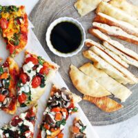 4-Ingredient Baked Flatbread (Plus Topping Ideas)