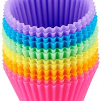 Reusable Silicone Baking Cups