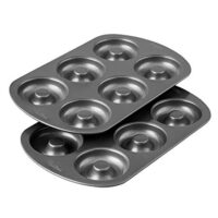 6-Cavity Donut Baking Pans, 2-Count