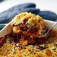 Baked Eggplant Parmesan Casserole
