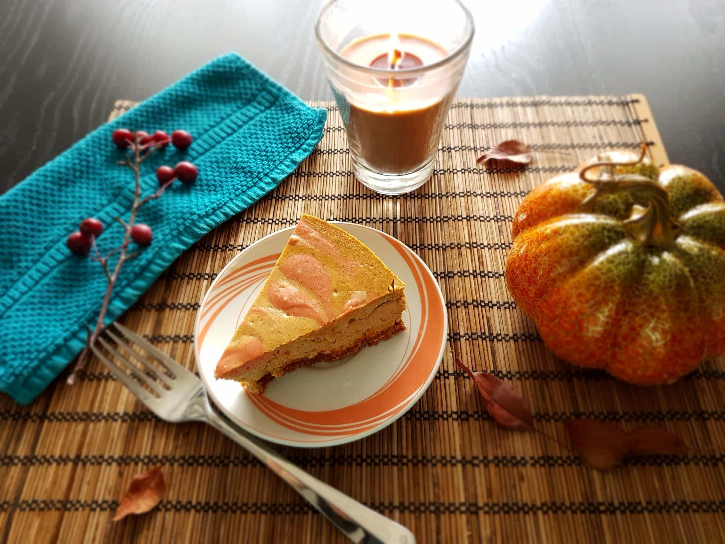 Baked Pumpkin Cheesecake