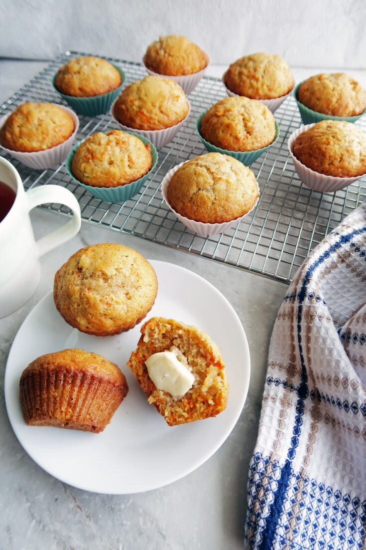 Easy Carrot Pineapple Muffins Yay For Food
