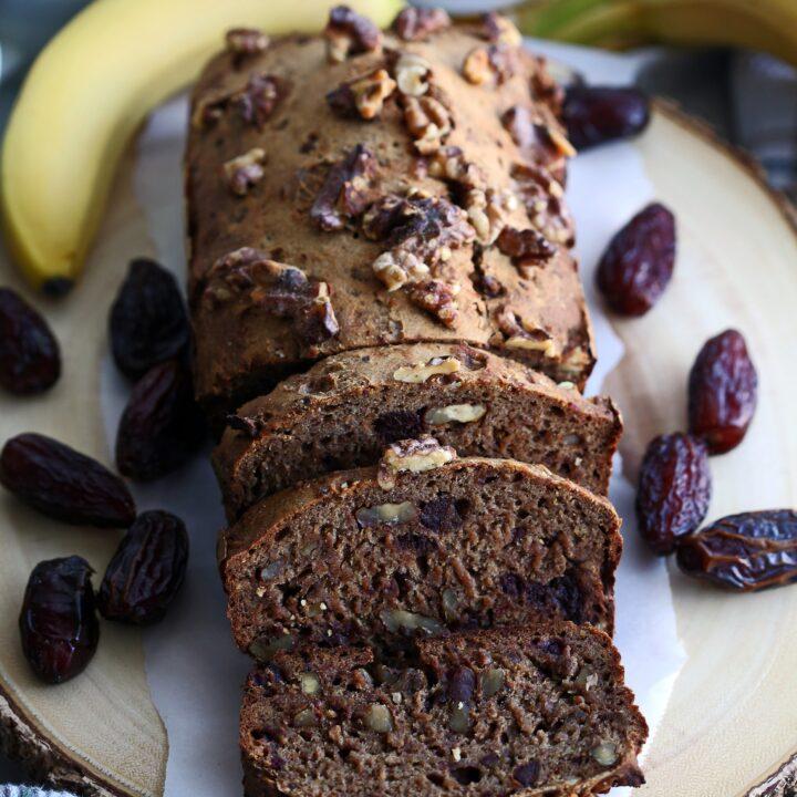 Date Banana Nut Bread