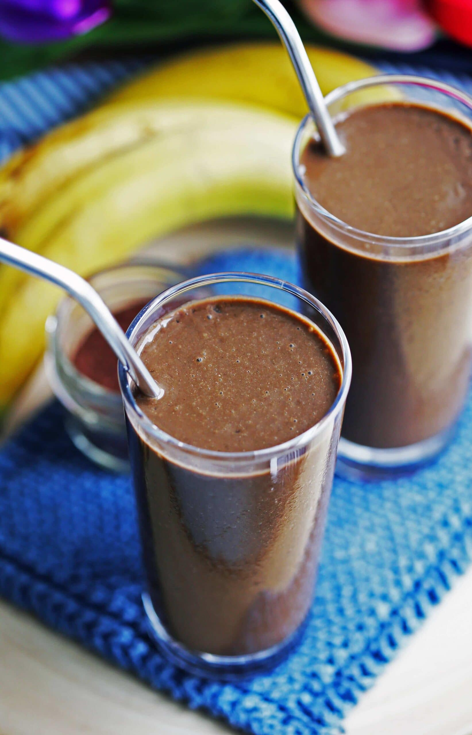 Healthy Chocolate Banana Smoothie