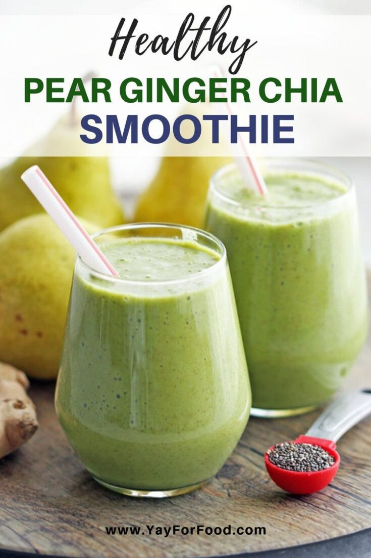 Healthy, refreshing, and so delicious! Try this awesome green smoothie featuring nutritious ingredients that will give you a boost of energy for the day!