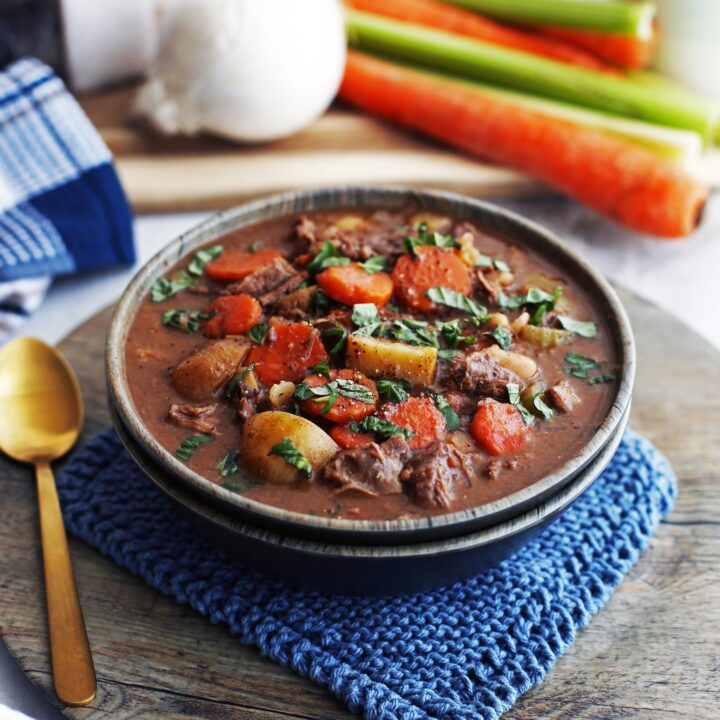 Instant Pot Chinese Five Spice Beef and Vegetable Stew