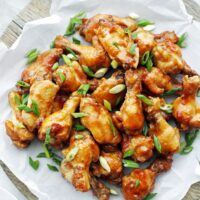 Instant Pot Orange Teriyaki Chicken Wings