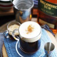 Maple Irish Coffee Cocktail