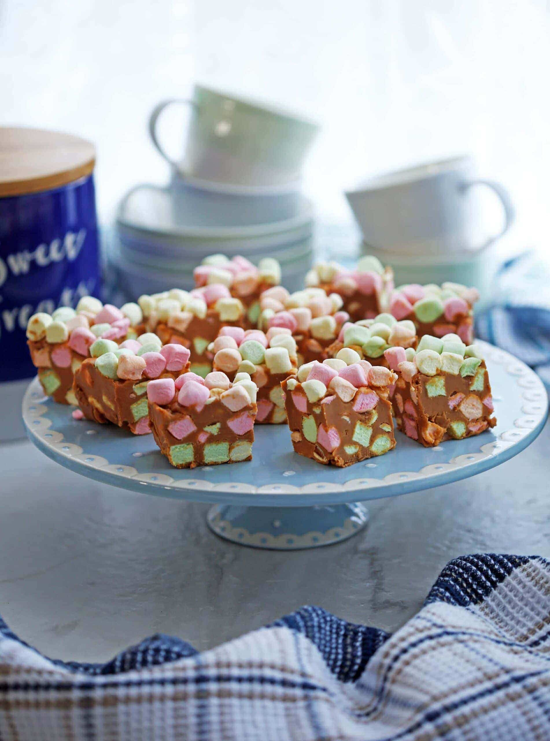 Peanut Butter Butterscotch Marshmallows Bars (aka Confetti Bars)