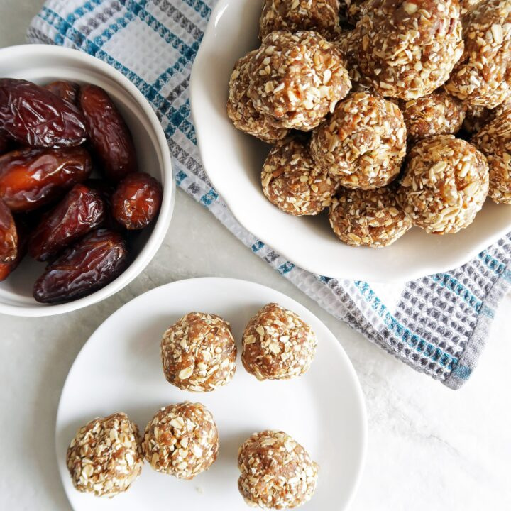 No-Bake Chai Spiced Date Energy Balls