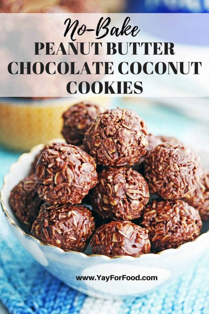 Chocolate and peanut butter and coconut, oh my! Check out this quick, no-bake, 5-ingredient treat that's so delicious to eat!