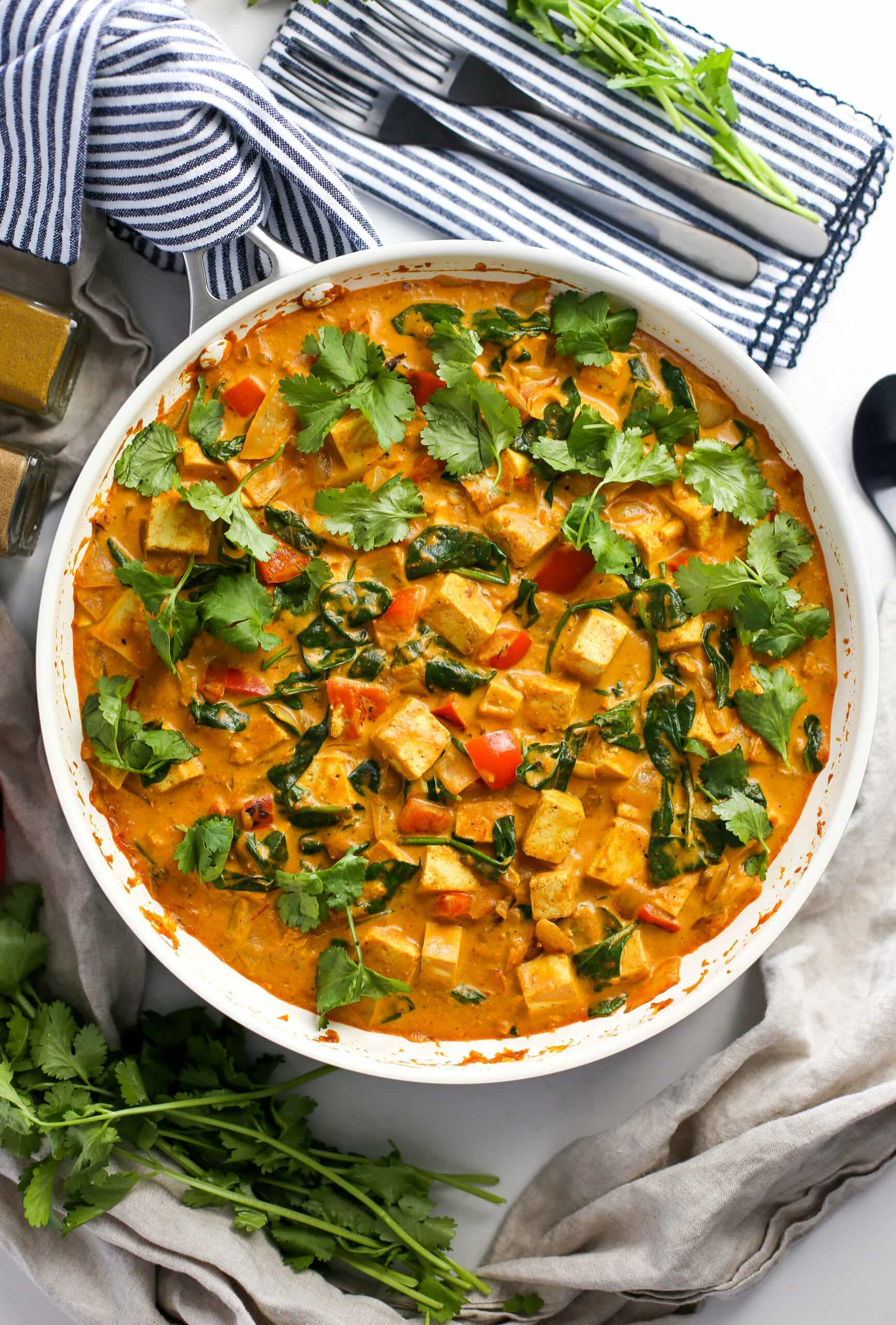 One-Pan Tofu Coconut Curry