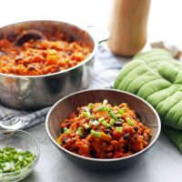 One-Pot Red Lentil and Butternut Squash Chili