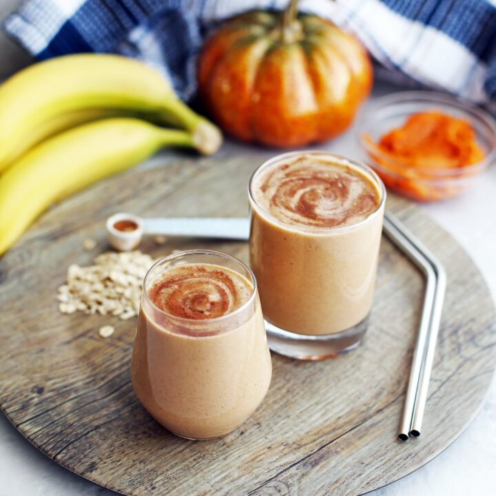Pumpkin Pie Spice Protein Smoothie