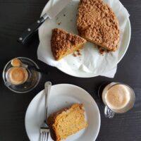 Pumpkin Sour Cream Coffee Cake