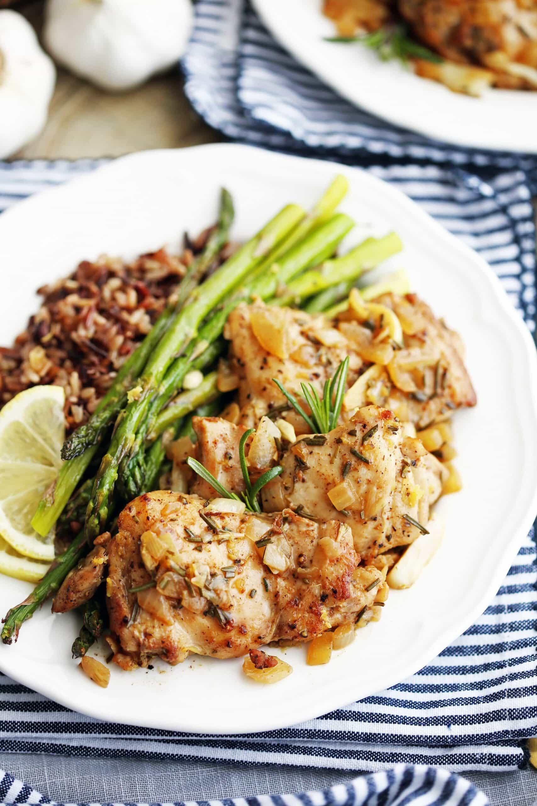 One-Pan Rosemary Garlic Chicken