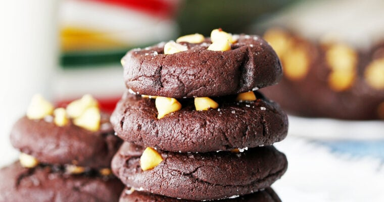 Salted Chocolate Butterscotch Chip Cookies