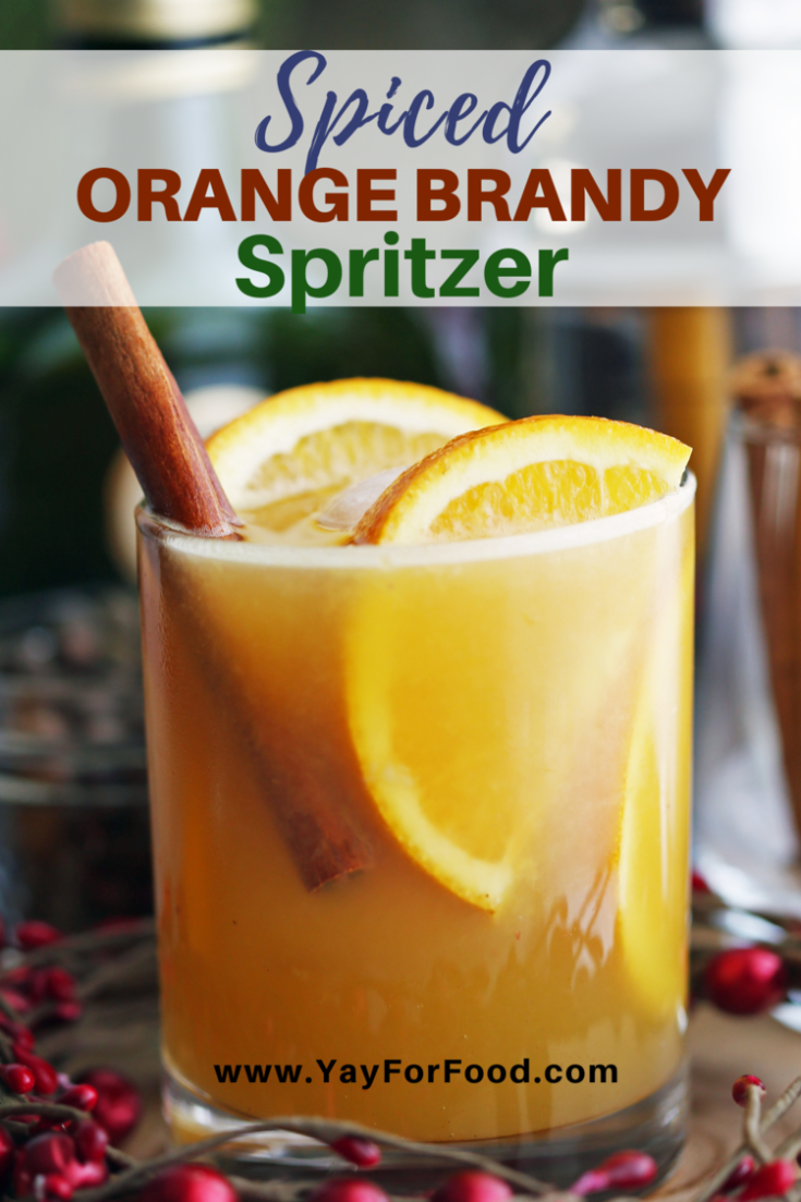 Celebrate the holidays with this easy and delicious spiced brandy cocktail recipe featuring the sweet, bright flavour of oranges. Easy to prepare for your next winter party.
