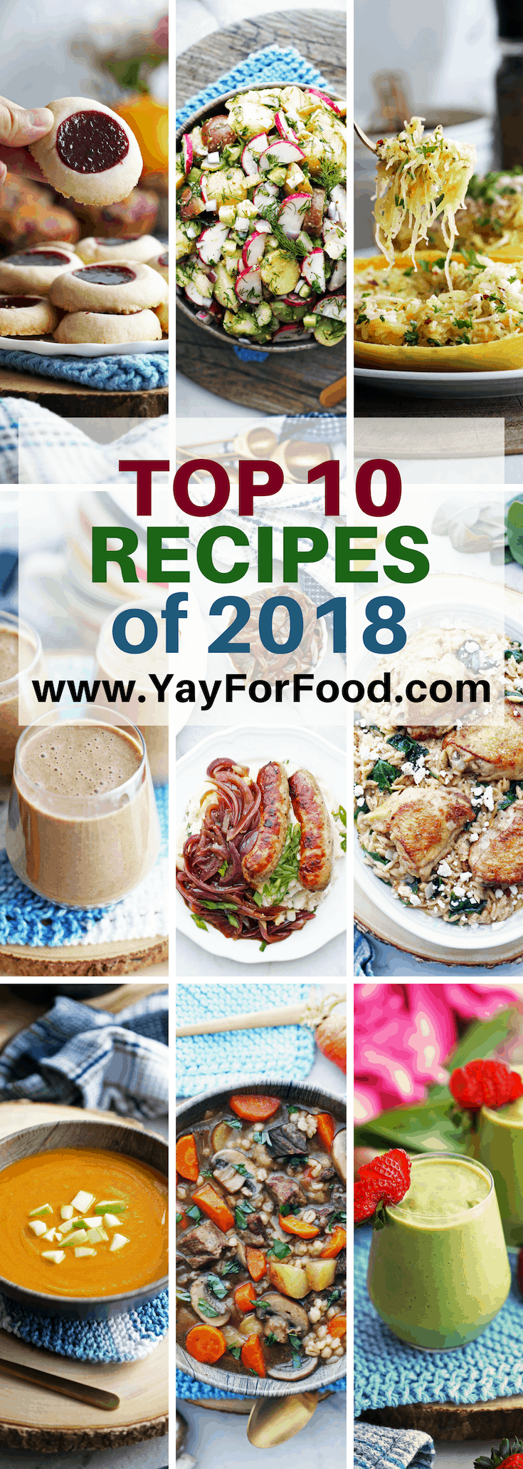 Readers' Top Ten New Recipes of 2018