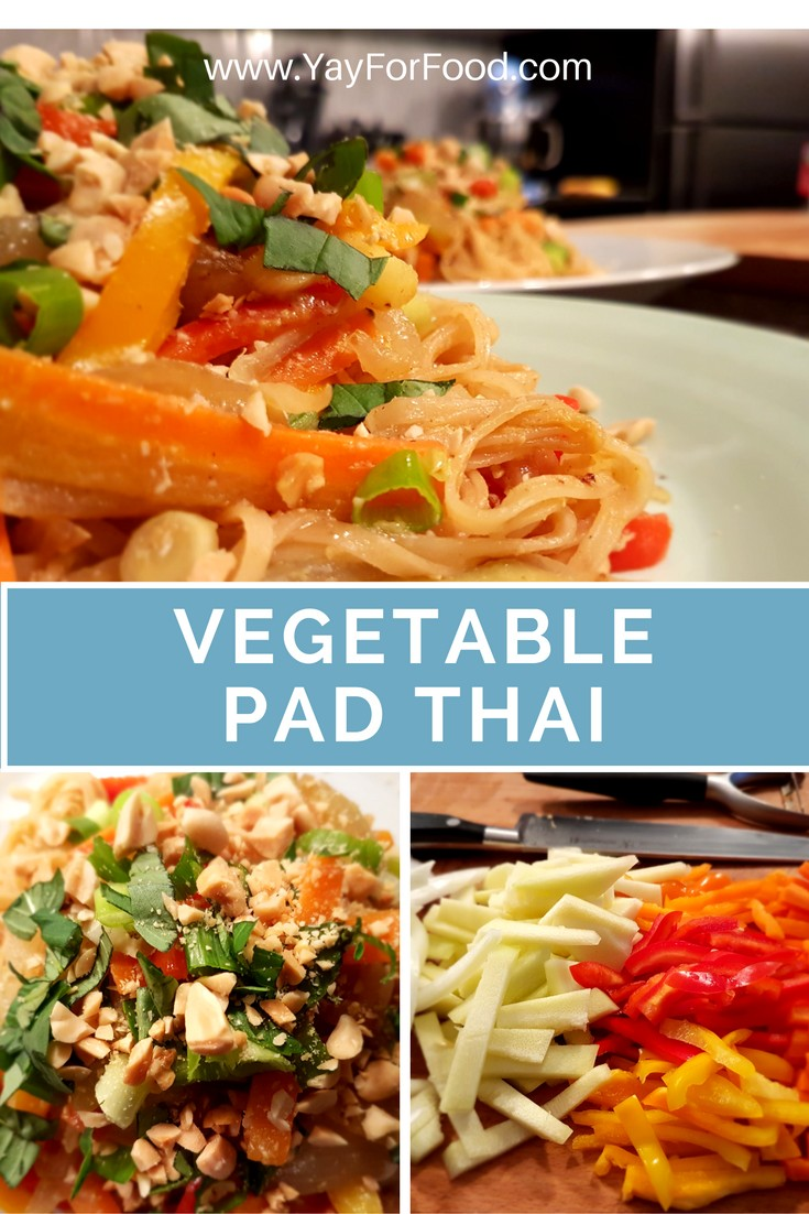 This vegetarian dish is beautiful to look at with all its different colours, but even better to taste. Adding peanuts and Thai basil to this dish provides crunch and additional freshness to this quick and easy meal.