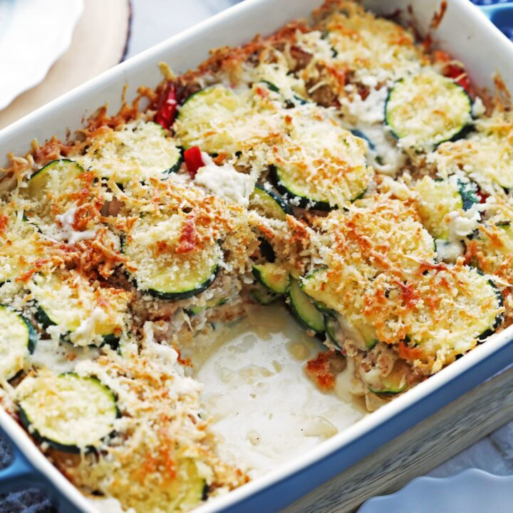 Zucchini Gratin with Gruyère and Panko Breadcrumbs