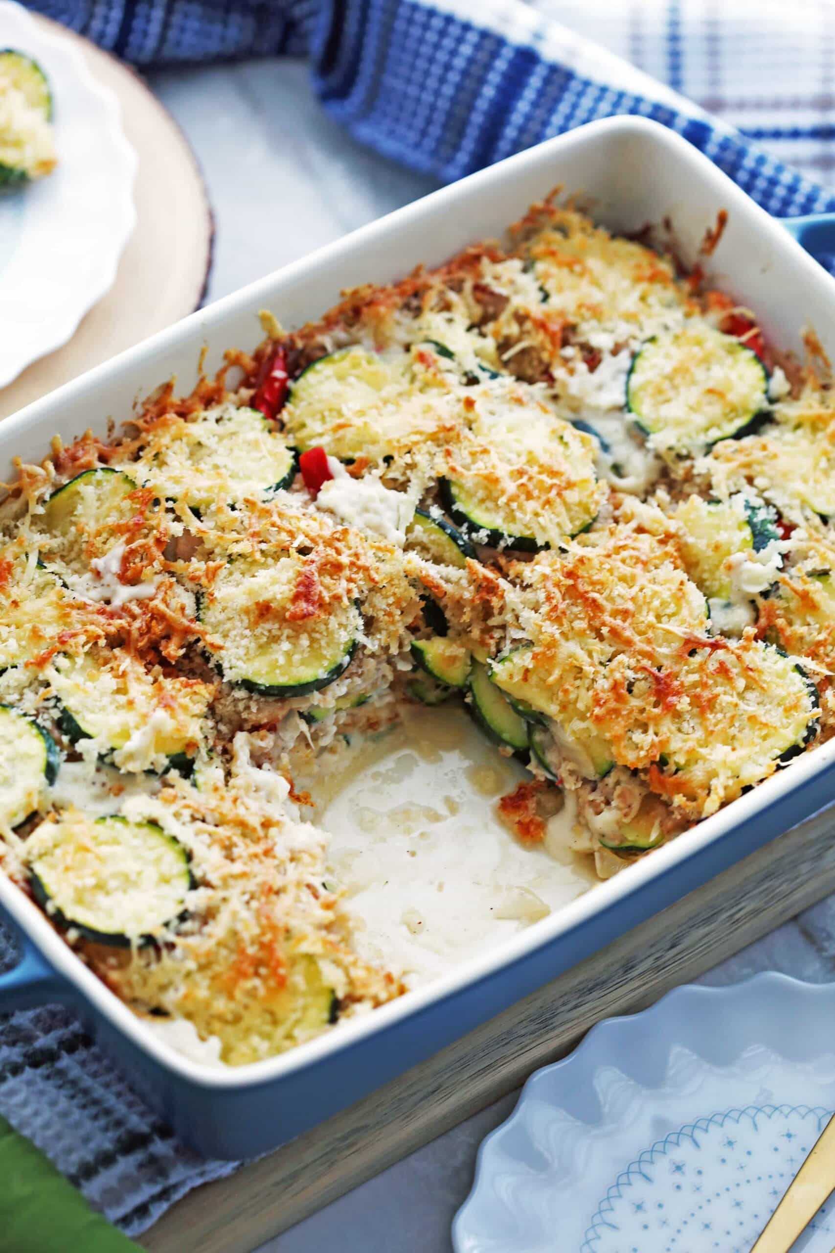 Zucchini Gratin with Gruyère and Panko Breadcrumbs